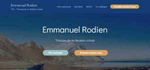 Emmanuel Rodien - Thérapeute en Relation d'Aide